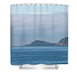 Cornwall Shower Curtain by Terri Waters