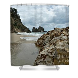 Coromandel, New Zealand Shower Curtain
