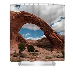Corona Arch - 9755 Shower Curtain