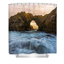 Shower Curtain featuring the photograph Corona Del Mar by Dustin  LeFevre
