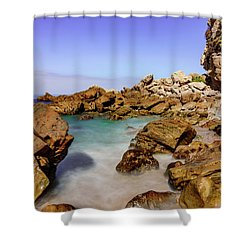 Corona Tide Pools Shower Curtain