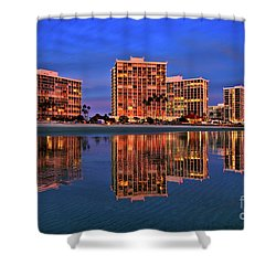 Coronado Glass Shower Curtain