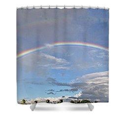 Coronado Rainbows Shower Curtain