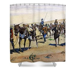 Coronados March, 1540 Shower Curtain by Granger