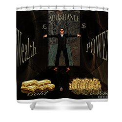 Corridor Of Wealth Shower Curtain