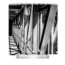 Corridors Shower Curtain