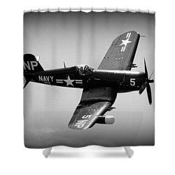 Corsair Flight Shower Curtain