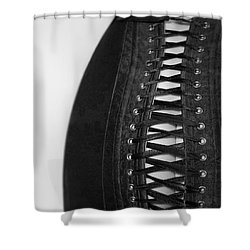 Shower Curtain featuring the photograph Corset #20080 by Andrey  Godyaykin