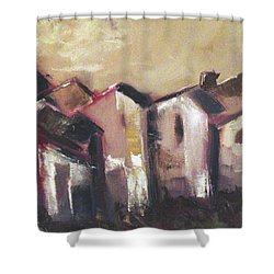 Corsica Shower Curtain by Roxy Rich