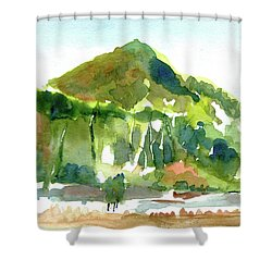 Corte Madera Creek Shower Curtain by Tom Simmons