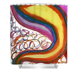 Cosmic Caf Shower Curtain