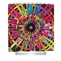 Cosmic Calibrator Shower Curtain
