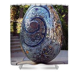 Cosmic Egg Shower Curtain