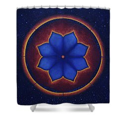 Cosmic Harmony Shower Curtain