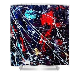 Cosmic Journey Shower Curtain by Wayne Potrafka