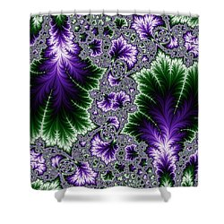 Cosmic Leaves Shower Curtain