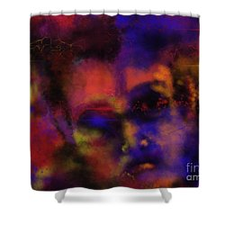 Cosmic Punk Shower Curtain