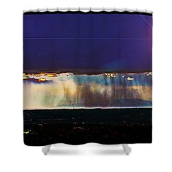 Cosmic Relocation Shower Curtain