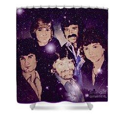 Cosmic Rockers Shower Curtain
