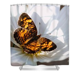 Cosmo Visitor 4 Shower Curtain