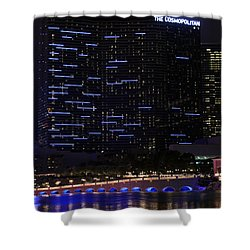 Cosmopolitan Evening Shower Curtain