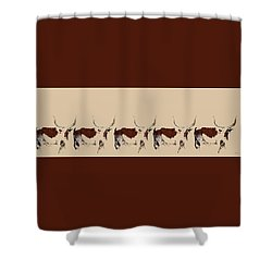 Cosmopolitan Watusi Shower Curtain
