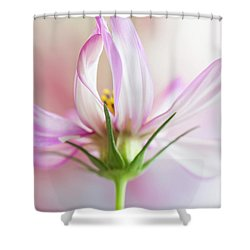 Shower Curtain featuring the photograph Cosmos 5 by Elena Nosyreva
