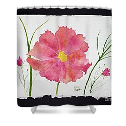 More Cosmos Shower Curtain