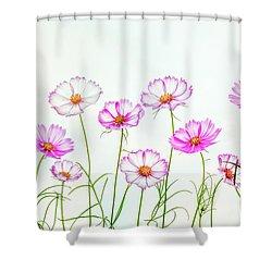 Cosmos Dance Shower Curtain
