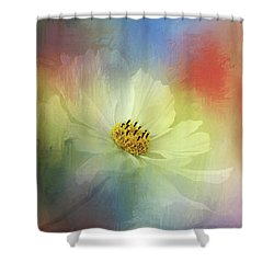 Cosmos Dreaming Abstract By Kaye Menner Shower Curtain