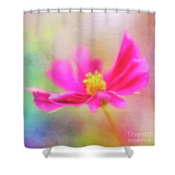 Cosmos Flowers Love To Dance Shower Curtain