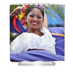 Costa Maya Dancer Shower Curtain