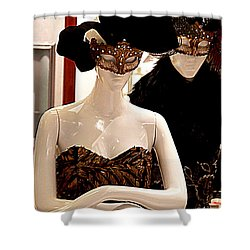 Costume Party Shower Curtain