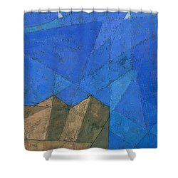 Cote D Azur I Shower Curtain by Steve Mitchell