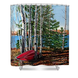 Cottage Country 2 Shower Curtain