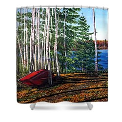 Cottage Country Shower Curtain