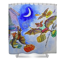 Cottage Life Shower Curtain