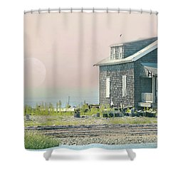 Cottage On The Sound Shower Curtain