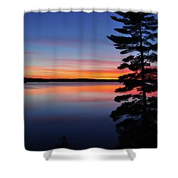 Cottage Sunset Shower Curtain