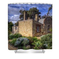 Cottage Shower Curtain by Wayne Sherriff