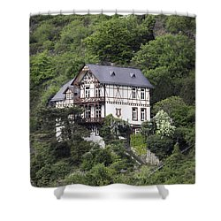 Cottage With A View Shower Curtain