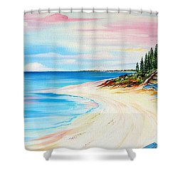 Cottesloe Beach Indiana Tea House Shower Curtain