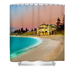 Cottesloe Beach Sunset Shower Curtain