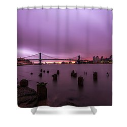 Shower Curtain featuring the photograph Cotton Candy  by Anthony Fields