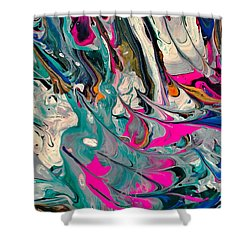 Cotton Candy Circus Shower Curtain