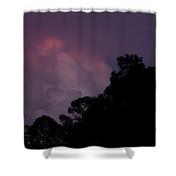 Cotton Candy Dusk Shower Curtain