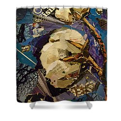Cotton Rising Shower Curtain by Debby Guelker