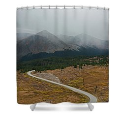 Cottonwood Pass #1 Shower Curtain