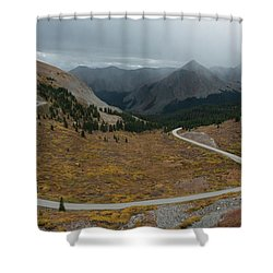 Cottonwood Pass #2 Shower Curtain