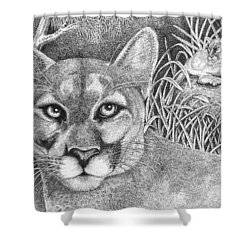 Cougar Shower Curtain